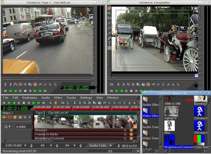 best linux video editor 2018